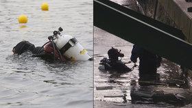 Vltava v Praze jako »pohřebiště všeho«: Při pátrání to komplikuje práci policejním potápěčům