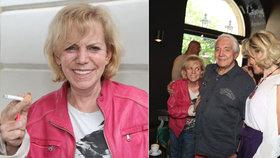 Krampolova manželka Hanka přiznala 60 cigaret denně! Proč je pořád na kost vyhublá?