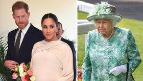 Královna tajně navštívila Meghan! Přijela se podívat na miminko?