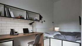 Nic nechybí! Útulný studentský byt vznikl na pouhých 17 m2