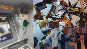 """Policie v Praze našla """"napíchnutý"""" bankomat! Zloději mají nový trik, jak se bránit?"""