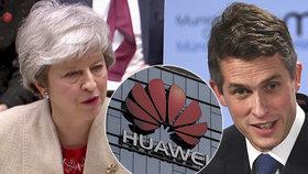 """Kvůli kauze Huawei """"padají hlavy"""": Mayová odvolala ministra obrany Williamsona"""