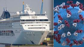 Spalničky na palubě. Výletní parník s 300 lidmi skončil v karanténě v Karibiku