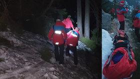 Dívku (16) zmohly Krkonoše: Zachraňovat ji musela horská služba
