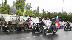 Noční vlci znovu rozburácejí Prahu: Motorkářský gang se v pondělí prožene metropolí