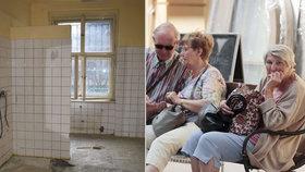 Nové plány se zchátralým trojdomem v Dejvicích: Opraví ho! Znovu v něm bude domov důchodců