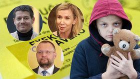 """""""Velká prasárna."""" 3,5 tisíce dětí v exekuci štve i vládu, kývla na návrh poslanců"""