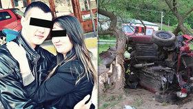 Roman (†23) a Adriana (†24) zemřeli při autonehodě: Poslední slova před smrtí
