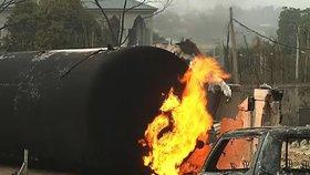 Exploze cisterny si v Nigeru vyžádala 55 obětí. Město navštívila i Merkelová