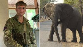 Mladík (†23) odjel do Afriky bojovat s pytláky: Udupal ho splašený slon!
