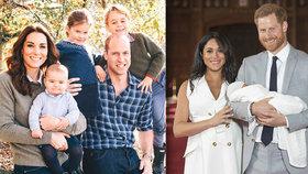 Syn Harryho a Meghan Archie už vydělává: 2,2, miliardy pro Británii! Na bratrance ale nemá