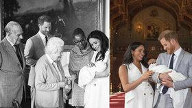 Jméno syna Meghan a Harryho posvětila královna: Šťastná rodina přivítala Archieho!