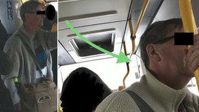 """Konec pátrání po """"ukáječi"""" z pražské MHD: Muž, který si rozkrok otíral o cestující, sám přišel na policii"""