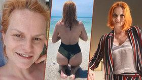 Pazderková ukázala fotku bez retuše a nestačila se divit! Tohle jí lidé psali!