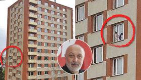Nahý kluk (3) v okně 9. patra: Děti dělí od tragédie centimetry a sekundy, varují odborníci