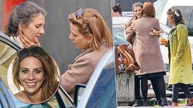 Zamilovaná Aneta Langerová s novou přítelkyní: Něžnosti nebraly konce!