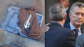 Po smrti poslance s pistolí na prezidenta. Muž se zbraní v kufříku se kryl schůzkou