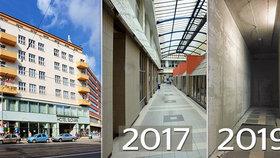 Neuvěřitelná zpupnost: Majitel hotelu Slovan zazdil legendární pasáž v centru Brna