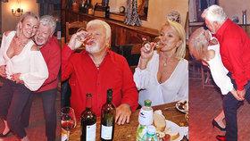 Divočák Milan Drobný: Nejdřív alkohol, pak vnady manželky sotva ubránila halenka!