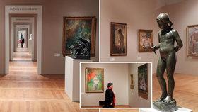 GALERIE: Pražský hrad hostí největší výstavu slovinských umělců. S našimi měli mnoho společného