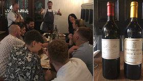 Číšník omylem nalil víno za 130 tisíc: Neuvěříte, jak se restaurace zachovala!