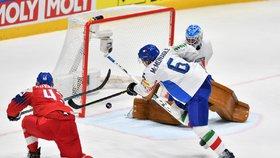 Češi rozdrtili Itálii 8:0! Soupeř si doposud na MS nepřipsal ani jeden gól