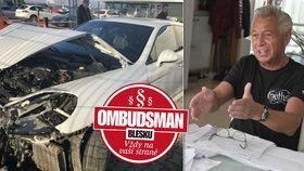 Bojuje s pojišťovnou kvůli zničenému porsche za 3 miliony! Kolik úředníci nabídli?
