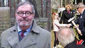 Pozůstalý po válečném hrdinovi zkolaboval během piety v Česku: Kanaďan upadl do kómatu, neměl pojistku