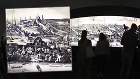 VIDEO: Rozpohybovali rytinu Prahy z roku 1606: Tisícovka postaviček doslova ožívá před očima