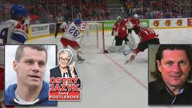 Odbornice si vzala na paškál výkon hokejových expertů! Chtělo by to rozcvičku, pobízí je