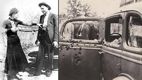 Slavné milence Bonnie a Clydea rozstříleli ze zálohy: Prozradila je poslední troufalá akce!