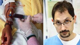 Pavel (†51) zemřel po chybné transfuzi: 30 vteřin navíc a mohl žít!