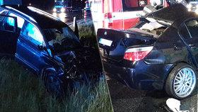 Další oběť nehody BMW v protisměru: Po mladém řidiči zemřel i spolujezdec (†19)!