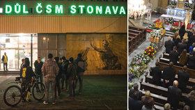 Rodina pochovala havíře Martina (†40): Tělo leželo v podzemí 5 měsíců