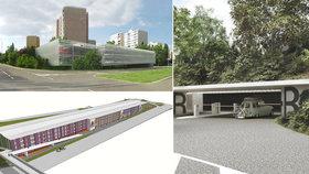 Kde na západě Prahy vzniknou parkovací domy? Na Černém Mostě se už brzy začne s výstavbou
