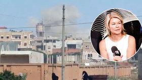 """Novinářka na útěku a pod palbou Asadových tanků: """"Najednou z nás byly terče"""""""