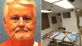 Na Floridě popravili sériového vraha: Před smrtí řekl jediné slovo