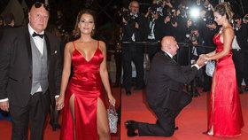 Český milionář požádal o ruku tanečnici na červeném koberci v Cannes! Po 6týdenní známosti
