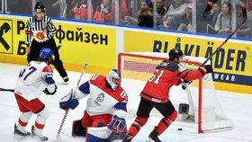 Češi podlehli Kanadě 1:5: V zápase o bronz vyzvou Rusko