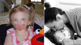 """Zemřela Sophia (†10), """"holčička bez tváře"""": Kvůli postižení čelila rodina nenávistným útokům"""