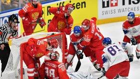 Češi skončili čtvrtí: Rusové vyhráli 3:2 po samostatných nájezdech