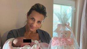 Monika Marešová se pochlubila miminkem! Dočkali jsme se, tetelí se