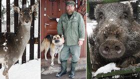 """Zemřel šerif Radek """"Bill"""" Zíka, zachránce zvířat a milovník přírody: Jeho koutek pro zvěř nejspíš skončí"""