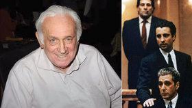 Hvězda trilogie Kmotr po smrti! Carmine Caridi (†85) se neprobudil z kómatu