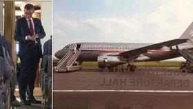 Střelba v Babišově letadle: Policie rozhodla o trestu pro bodyguarda