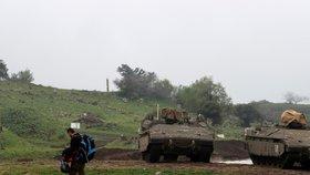 Tvrdá odveta za rakety na Golanech: Izrael zasáhl syrskou armádu, zemřeli tři vojáci