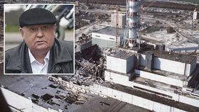 """Snažil se """"ututlat"""" tragédii v Černobylu. Teď se Gorbačov podívá na kultovní seriál"""