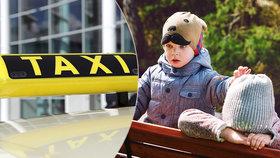 Rodiče poslali děti (2 a 4) na Slovensko taxíkem: Chtěli se jich asi zbavit