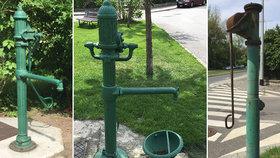 Zapomenuté ruční vodovodní pumpy: Po Praze jsou jich desítky. Proč je městské části nevyužívají k zalévání?