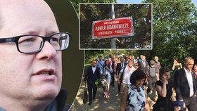 """""""Pawla Adamowicze"""": Promenáda na Vinohradech nese jméno po zavražděném gdaňském primátorovi"""